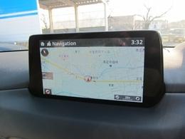 8インチマツダコネクトナビです!手元を見ずに操作できるコントローラーやハンズフリーにより運転に集中して走りをお楽しみ頂けます!Bluetooth/AUXにも対応しています!