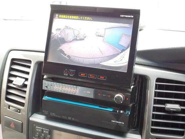 ☆『バックカメラ』死角の後ろも確認出来、これでバック駐車も楽々です♪