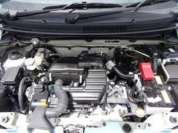 減速時のタイヤの回転エネルギーを利用して発電し、リチウムイオンバッテリーに充電。クルマの発電に無駄なガソリンを使わない!「エネチャージ」を搭載☆エンジンへの負担も軽減できるんですよ☆
