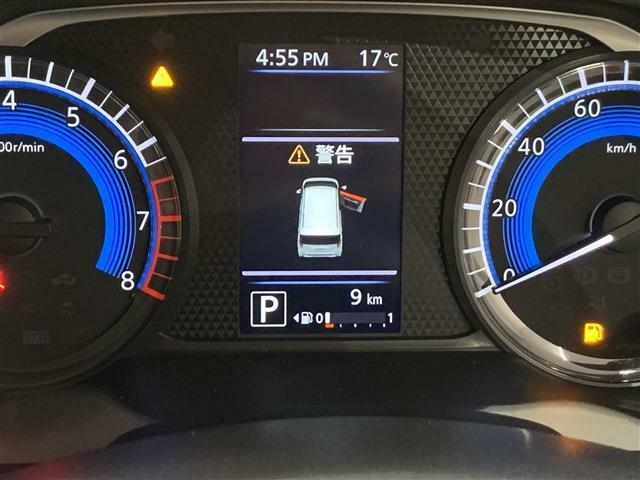 4.2インチ液晶カラーディスプレーを搭載車両情報を確認しやすいように表示してくれます。