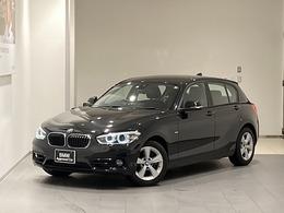 BMW 1シリーズ 118i スポーツ 後期モデル禁煙クルコン衝突軽減BカメLED