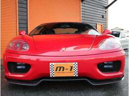 平成12年式(00y)フェラーリ360モデナ!純正6速マニュアル車!左ハンドル!新車並行車!F/Rチャレンジグリル!カーボンフロントスポイラー!社外マフラー付!タイミングベルト交換済!