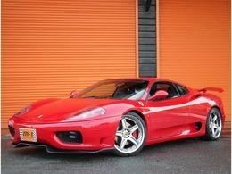 フェラーリ 360モデナ 3.6 純正6速TベルXX外マフラー19AWチャレグリ付