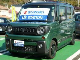 スズキ スペーシア 660 ギア ハイブリッド XZターボ 全方位カメラ搭載車