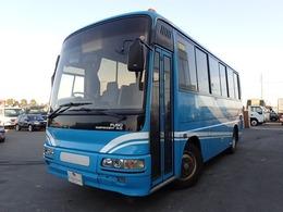 三菱ふそう エアロミディ 29人乗り 送迎・観光仕様 貫通トランク リクライニングシート 6MT