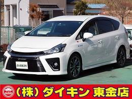 トヨタ プリウスα 1.8 S ツーリングセレクション G's 9インチナビTV ワンオーナー