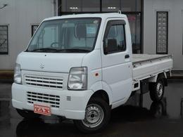 スズキ キャリイ 660 KCエアコン・パワステ 3方開 4WD パートタイム4WD 5MT ラジオ