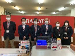 当社営業スタッフ左より重山・北林・茨目・成田・武田・早坂です!よろしくお願い致します