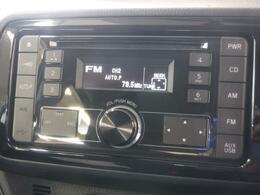 高品位な音を再現するAM/FMチューナー付CDプレーヤー。