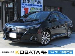 トヨタ SAI 2.4 G 純正SD地デジナビ 本革シート 1年保証付
