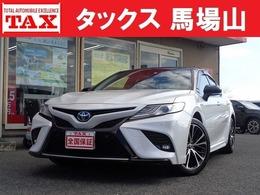 トヨタ カムリ 2.5 WS レザーパッケージ 衝突軽減 8型ナビ ドラレコ 全国保証