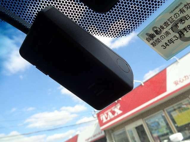 ドライブレコーダー付きで安心です(^^)