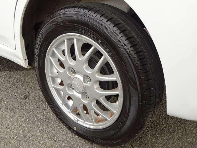 タイヤの溝もあり、走行にはなにも問題ありません!