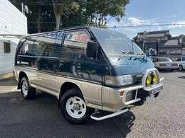 キャブオーバー型SUVワンボックス車、デリカスターワゴンは今でも大変人気のお車です!