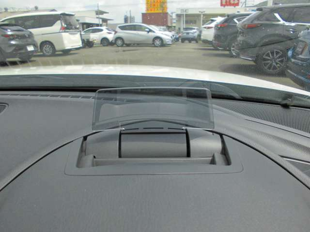 アクティブドライビングディスプレィ 運転に集中できるよう配慮された走行速度など必要な情報を確認するディスプレィです!