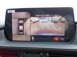 360°モニターで安全確認をサポートします。