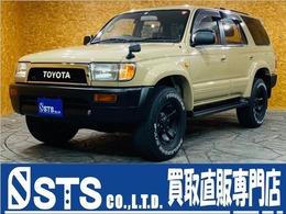 トヨタ ハイラックスサーフ 2.7 SSR-X 4WD ワンオーナー メッシュグリル 背面タイヤ
