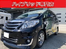 トヨタ アルファードハイブリッド 2.4 SR Cパッケージ 4WD プレミアムシート 後席モニタ モデリスタ