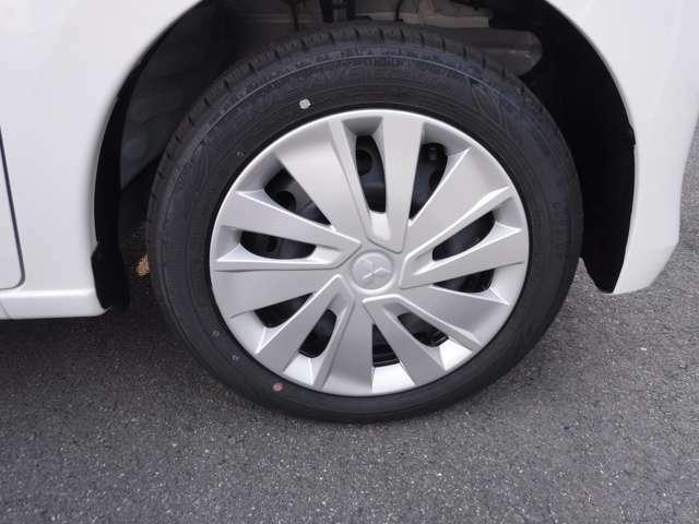 タイヤは新品!