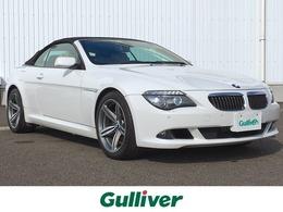 BMW 6シリーズカブリオレ 650i 純正ナビ ETC シートヒーター 電動シート