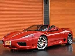平成16年式(04y)フェラーリ360スパイダーF1!04yモデル!黒本革シート!EU新車並行車両!電動オープン!黒本革シート!クライスジーク可変マフラー!ハーマンフルキット付!カーボンインテリア!