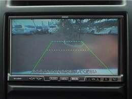 ガイド付きバックモニターで後方が確認でき、より安心です。