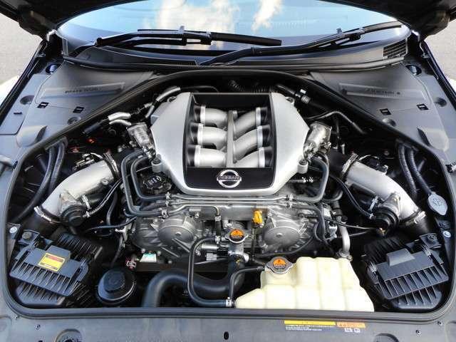 NISSAN GT-R専用3.8L V型6気筒ツインターボエンジンです。