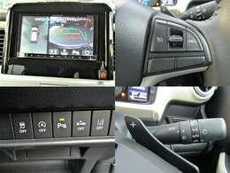 R1年式 クロスビー ハイブリットMZ デュアルカメラブレーキサポート/車線逸脱警報/社外ナビTV/シートヒーター/クルーズコントロール/パドルシフト/アラウンドビュー/LED/フォグ/コーナーセンサー/純正16AW