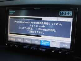 Bluetooth接続による音楽再生も可能です