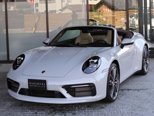 ◆2021y Porsche 911 Carrera S Cabriolet(Type992) 希少左ハンドル 入庫致しました