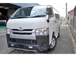 トヨタ ハイエースバン 2.0 DX ロング 1オーナー/TRDエアロ/PCS/LDA/ナビ/Bカメ