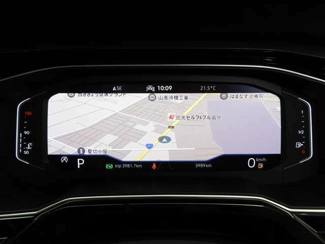 ☆『Active Innfo Display』従来のアナログメーターに代わる大型ディスプレイによるフルデジタルメータークラスター☆