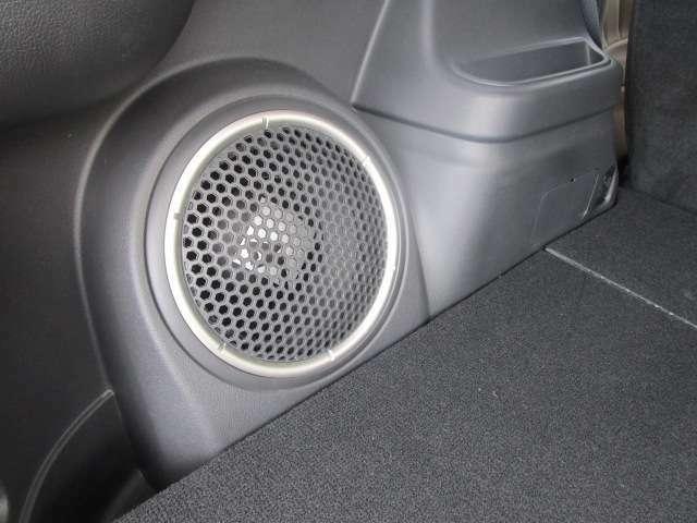音響が良いロックフォードサウンドシステムです。