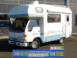 トヨタ カムロード キャンピングカー バンテック ジル ガス式温水ボイラー FFヒーター