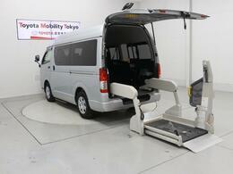 トヨタ ハイエースバン 2.0 ウェルキャブ Bタイプ ロング 福祉車両 ワンオーナー 10人乗り キーレス