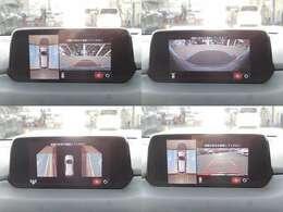 車庫入れや幅寄せに便利な360度ビューカメラ付きです!