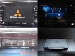 お出掛け嬉しい、純正SDナビ(フルセグ地デジTV)付です♪DVDビデオ再生機能・SD音楽録音機能・USB/Bluetooth接続も可能です♪