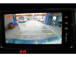 バックカメラ装備で、車庫入れも楽らく出来そうです!!