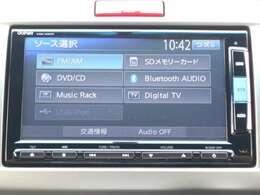 ◆◆純正メモリーナビです。DVD/CD再生のほかにもフルセグTV、ミュージックサーバー、Bluetooth連携機能も装備されとっても便利です!