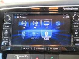 ナビ装備は元よりBluetooth audioをロックフォードオーディオで高度な音質を音楽も楽しめます!