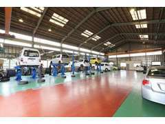 提携工場を完備しております!車検、整備等もご安心ください。