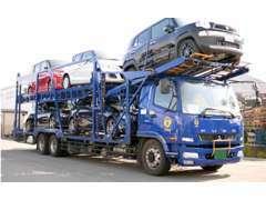 大手の陸送会社と提携していますので全国納車もお任せください!
