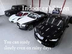 屋内展示場完備。雨の日でもゆっくりとご検討頂けます。