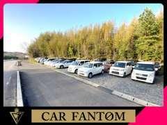 広い展示場には軽自動車は勿論、人気のSUVやハイブリッド車など、幅広く取り揃えています♪気に入って頂ける1台があるはず!!!