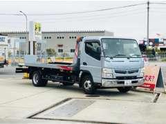 積載車もあるのでお車の引き取り、納車も当社で一貫して対応可能です!