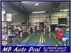 提携している指定法定整備工場にて、納車前の整備も念入りに行っております。安心のカーライフをお届けします☆