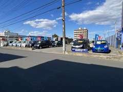 穴川インターから車で5分!JR都賀駅から車で3分!みつわ台総合病院の通り沿いの青い看板が当社です!是非お気軽にご来店ください