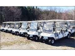 【ゴルフカート/フォークリフト/建機】様々な車種を幅広くお取り扱いしております!油圧ショベル、ブルドーザー等も!