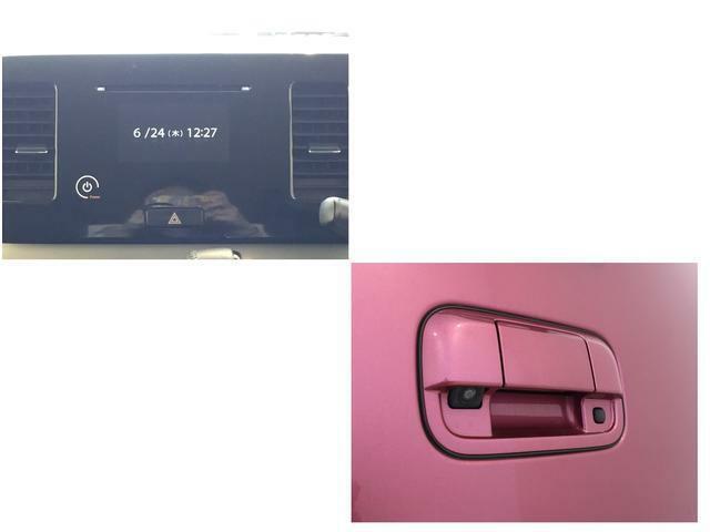 指先で直感的に操作できる「タッチパネルオーディオ」、駐車する時も安心のバックモニター。