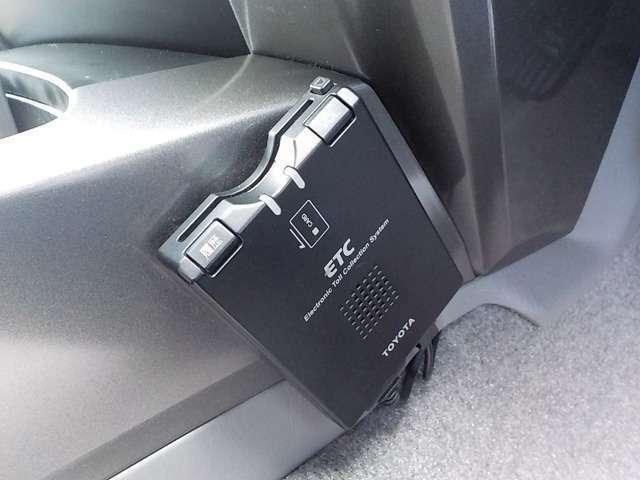 ☆ノンストップ決済^^今ではマストな装備のETC装備♪嫌な料金所渋滞が無く快適なドライブが可能です!